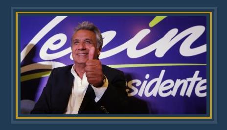 لينين مورينو مرشح الحزب الحاكم اليسارى