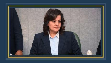 الدكتورة منى محرز نائب وزير الزراعة