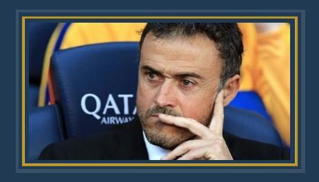 إنريكى مدرب برشلونة