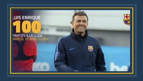 انريكى مدرب برشلونة