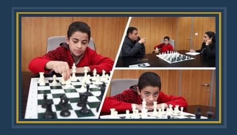 """يوسف خالد ابن العشر سنوات """"شبل"""" الشطرنج الذهبى"""