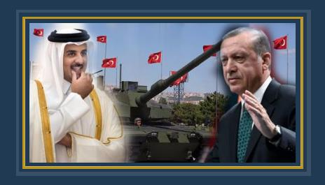 الرئيس التركى رجب طيب أردوغان وأمير قطر تميم بن حمد