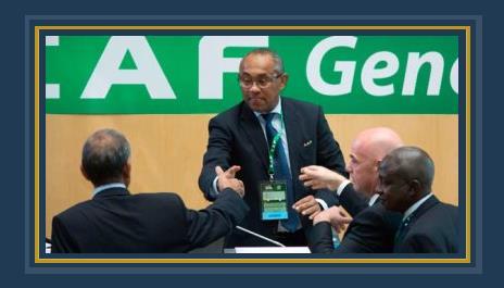 أحمد أحمد رئيس الكاف الجديد