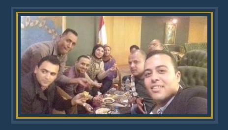 """مائدة غداء """"الفطير والعسل"""" لمحررى النقابات المهنية في أول يوم نقيب الصحفيين الجديد عبد المحسن سلامة"""