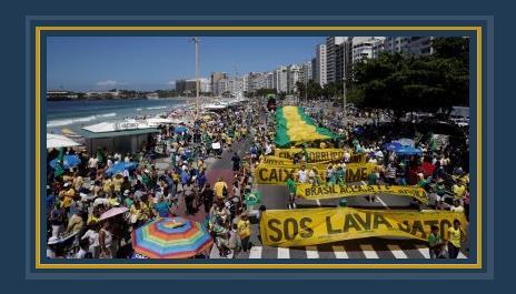 مظاهرات البرازيل اليوم