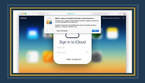خدمة iCloud
