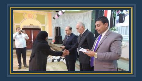 مدير أمن المنيا يكرم أسر الشهداء