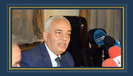 الدكتور رضا حجازى رئيس قطاع التعليم العام ورئيس امتحانات الثانوية العامة