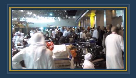 المعتمرين بمطار القاهرة الدولى