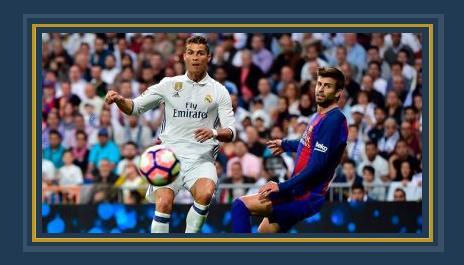 جانب من مباراة ريال مدريد وبرشلونة