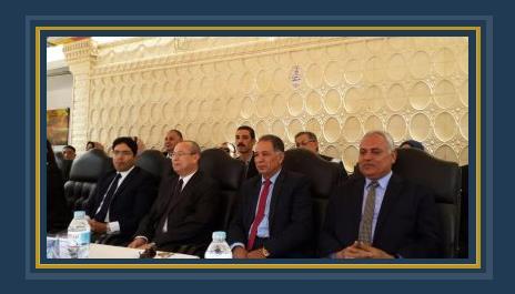 محافظ دمياط خلال المؤتمر