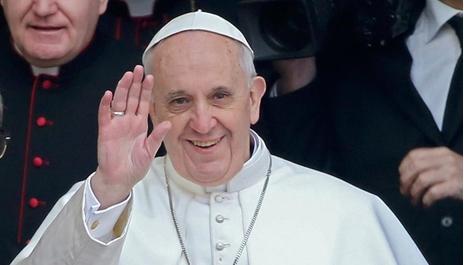 البابا فرنسيس الثاني بابا الفاتيكان