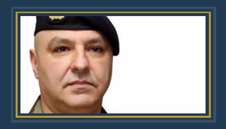 العماد جوزيف قائد الجيش اللبنانى