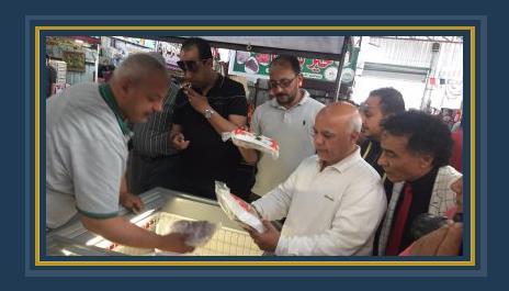 حملة على أسواق تحيا مصر بالمحلة