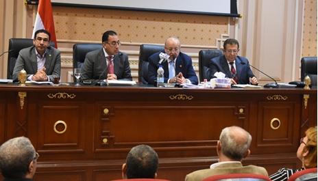 اجتماع لجنة الاسكان بالبرلمان