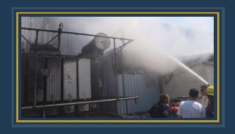 حريق محطة محولات سندوب