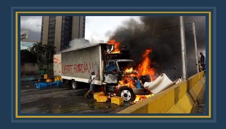 أعمال العنف فى فنزويلا