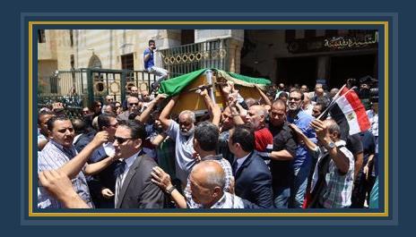 جنازة صفاء حجازى