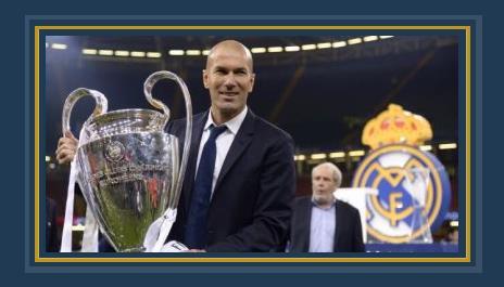 زيدان مدرب ريال مدريد