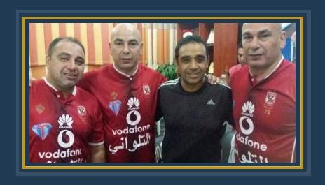 حسام وإبراهيم حسن بقميص الأهلى
