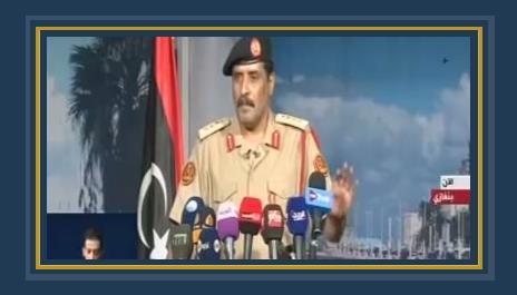 المتحدث باسم الجيش الليبي العقيد أحمد المسمارى
