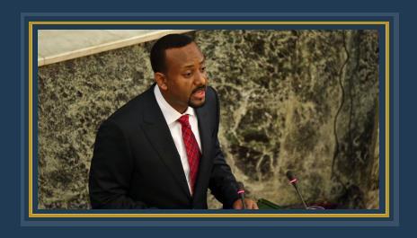 زعيمة المعارضة الإثيوبية السابقة تؤدى اليمين الدستورية رئيسا للمجلس الوطنى للانتخابات 427552