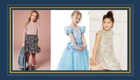 c7ed187752967 بفستان سندريلا والفستان المرصع بالترتر.. اختارى أزياء طفلك فى المناسبات