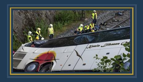 مصرع 4 وإصابة 19 شخصا إثر انقلاب حافلة ركاب غربى موسكو 485382