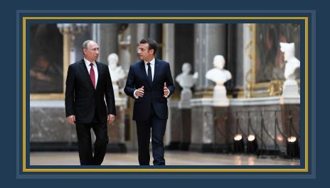 """الكرملين يرفض اتهام ماكرون لـ""""بوتين""""بمحاولة""""تفكيك""""الاتحاد الأوروبى  489470"""