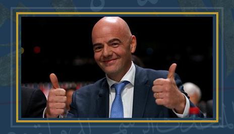 جيانى إنفانتينو رئيس الفيفا