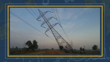 برج كهرباء  -صورة ارشيفية
