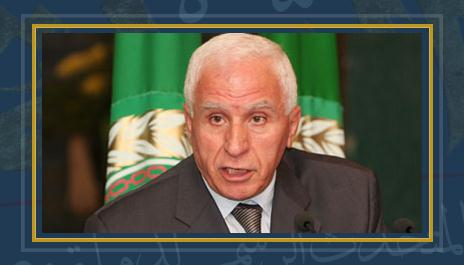 عزام الأحمد عضو اللجنة المركزية لحركة فتح