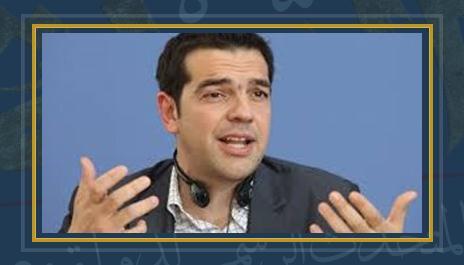 أليكسيس تسيبراس رئيس الوزراء اليونانى
