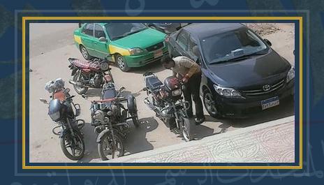 سرقة دراجات بخارية - صورة أرشيفية