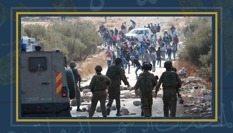 المواجهات بين الفلسطينيين والاحتلال الإسرائيلى