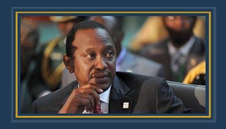 أهورو كينياتا رئيس كينيا