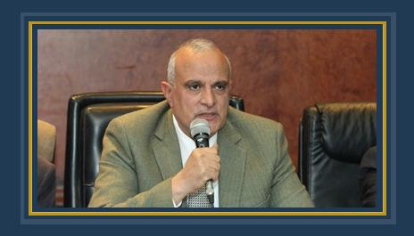 الدكتور إبراهيم عبد الوهاب سالم رئيس جامعة طنطا