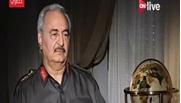 المشير خليفة حفتر، قائد القوات المسلحة الليبية