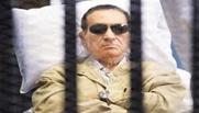 مبارك خلال وجوده فى الحبس