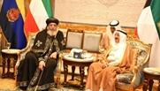 البابا تواضروس الثانى وأمير الكويت