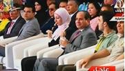 الرئيس السيسى خلال المؤتمر الثالث للشباب بمدينة الإسماعيلية