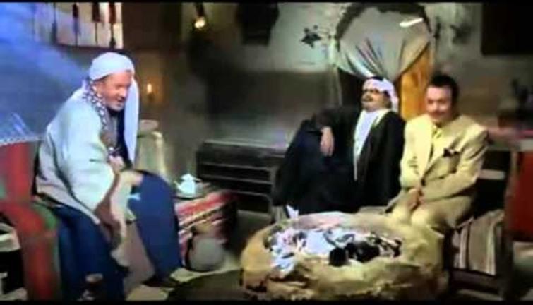 لطفي لبيب جد محمد هنيدي في عنتر ابن ابن ابن شداد انفراد